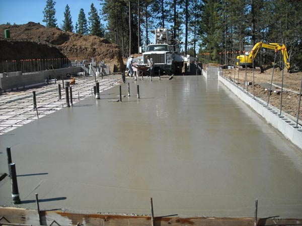 Poured foundation walls contractor basement waterproofing Foundation pouring